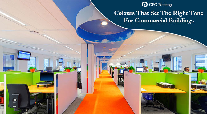 Colours That Set The Right Tone For Commercial Buildings