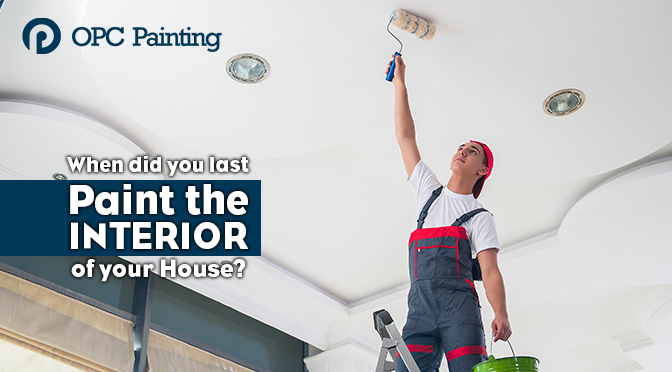 When Did You Last Paint the Interior of Your House?
