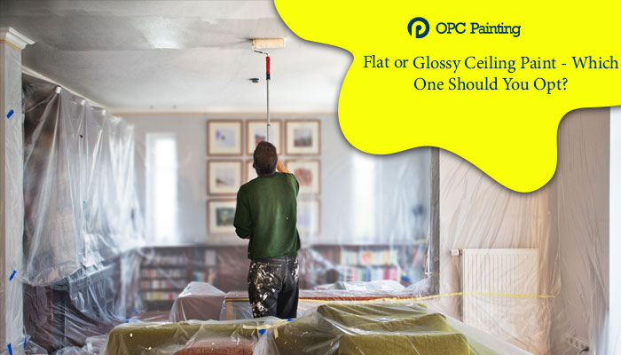 glossy ceiling paint