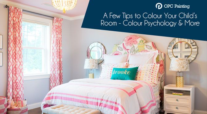 A Few Tips to Colour Your Child's Room – Colour Psychology and More