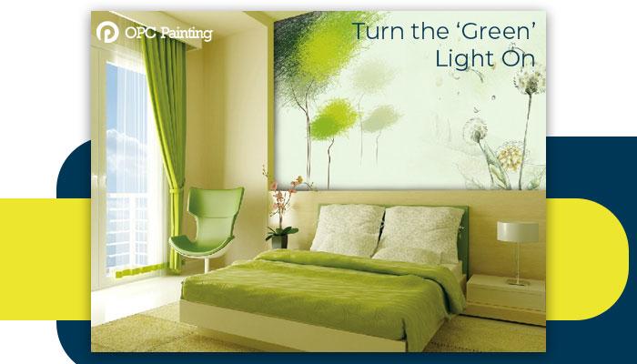 turn the green light on