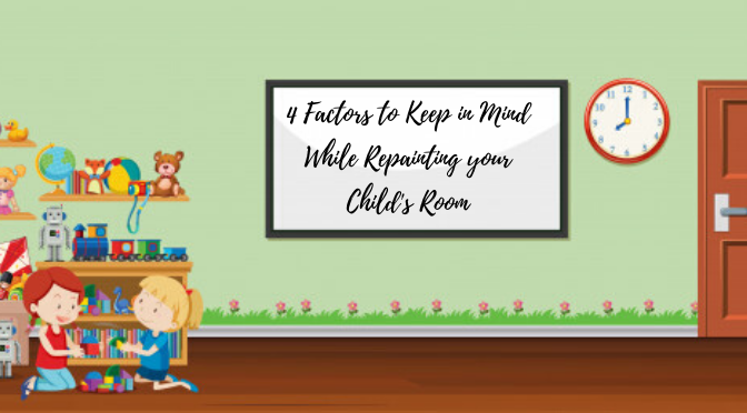 4 Interior Painting Tips for Repainting Your Child's Room