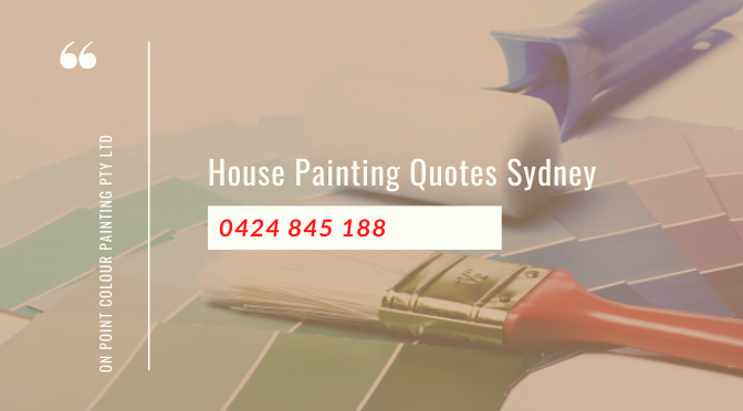 Factors to Consider While Agreeing on House Painting Quotes