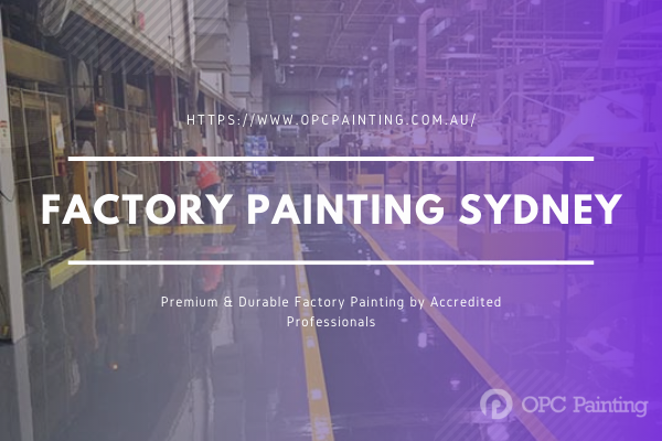 Factory Painting Sydney